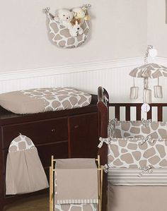 Baby's Own Room - Giraffe Baby Bedding Set, $189.99 (http://www.babysownroom.com/giraffe-baby-bedding-set/)