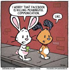 Humor: verbal communication skills and Facebook