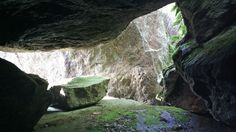 Klockarberg's Caves in Nauvo Archipelago, Caves, Finland, Waterfall, Photo And Video, Videos, Outdoor, Outdoors, Cave