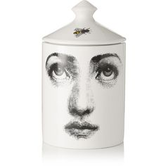 Fornasetti L'Ape Thyme, Cedarwood and Lavender scented candle, 300g ($125) ❤ liked on Polyvore featuring beauty products, fragrance, white, fornasetti, perfume fragrance and scents perfume