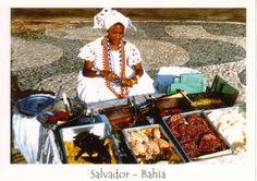 Baiana do acarajé Salvador de Bahía, Brasil   - Explore the World with Travel Nerd Nici, one Country at a Time. http://TravelNerdNici.com