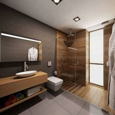 Stunning Plywood Bathroom Wall Design Ideas Modern House - Page 11 of 21 - Bathroom Ideas Bathroom Layout, Modern Bathroom Design, Bathroom Interior Design, Bathroom Wall, Bathroom Ideas, Bathroom Designs, Remodel Bathroom, Bathroom Organization, Bathroom Renovations