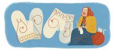 Maria Erika Olofsdotter Kruukka's 150th Birthday - Google Doodle