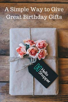 Your personal shopper will help you find the perfect birthday gift, for free. Tell them who you're shopping for to receive personalized recommendations in less than an hour. Signup and be the one who gives their favorite gift this year.