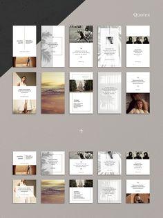 ANIMATED Neutral Instagram Bundle #template #photoshop #animated #story Web Design, Layout Design, Instagram Design, Instagram Story Template, Social Media Design, Graphic Design Posters, Presentation Design, Magazine Design, Editorial Design