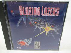 TurboGrafx Game Blazing Lazers Turbo 16 GRAFX 1989 Data East Corp. by NEC