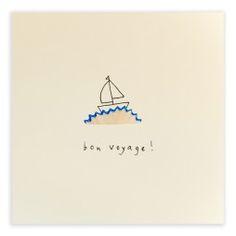 Pencil Shavings Cards - Bon Voyage