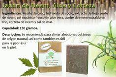 Jabon de Neem, Aloe y Corteza