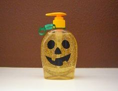 halloween-hand-soap using duct tape craft