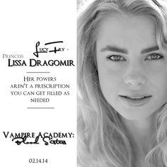 Vampire Academy Movie | Lucy Fry as Lissa Dragomir