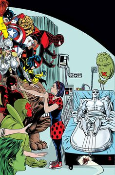 Deadpool #9 & #10 and Silver Surfer #4