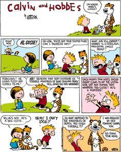 I love Calvin & Hobbes!