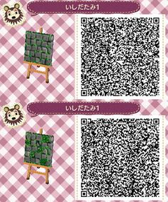 Animal crossings new leaf: grass with flowers and grass with a open book Qr Code - Animal Crossing Qr-Code - croixdanimaux Animal Crossing 3ds, Animal Crossing Qr Codes Clothes, Acnl Pfade, Acnl Art, Acnl Qr Code Sol, Flag Code, Acnl Paths, Motif Tropical, Motif Acnl