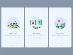 40 colorful mobile page design guide