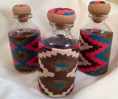 Makin's Clay® Blog: Decorative Bottles by Carole Monahan