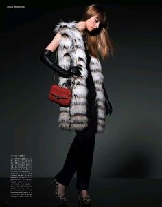 Vogue Japan - Color Me Chic (COACH Advertorial)