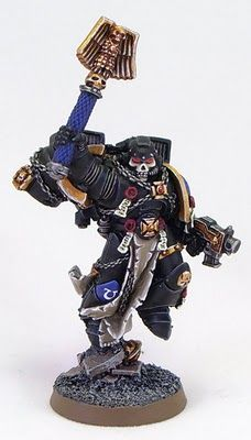 Tale of Painters: Ultramarines: Chaplain with Jump Pack