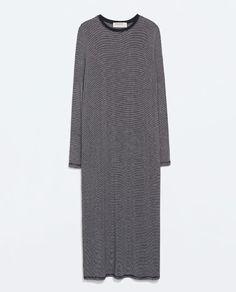 ZARA - WOMAN - LONG STRIPED DRESS