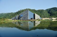 lanyang museum by kris yao/artech architects in wushih port, yilan, taiwan