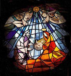 Vitral Nacimiento -Nativity Stained glass. by sebaheguia, via Flickr
