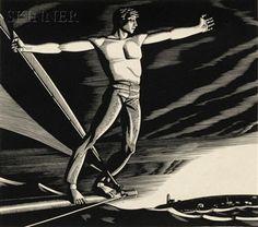 "disciplinethepainter: "" Rockwell Kent Home Port Wood engraving 1931 "" for-the-duke-of-paris Rockwell Kent, Norman Rockwell, Schmidt, Moby Dick, Kent Williams, Art Deco Movement, Wood Engraving, Gravure, American Artists"