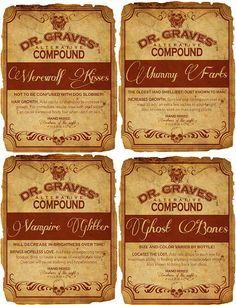 Dr Graves labels