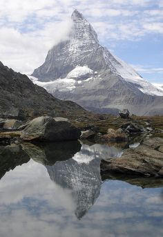 Matterhorn, above Zermatt, Switzerland