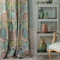 Collioure Fabric & wallpaper by Nina Campbell.