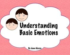 Understanding Basic Emotions to Improve Social Skills! - SLP Gone Wild - TeachersPayTeachers.com