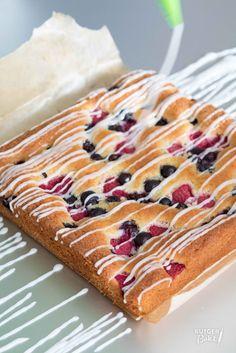 Recept: Amandelcake met zomerfruit / Recipe: Almondcake with summerfruits