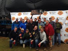 The Cotton Pickin Porkers...we won third place whole hog in the MIM World BBQ Contest 2014