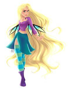 CGI Disney Princesses(e.m.m.r.a.) x .W.I.T.C.H.