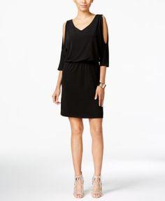 INC International Concepts Cold-Shoulder Sheath Dress, Only at Macy's | macys.com
