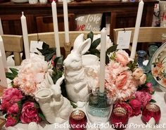 Beautiful Inspiration for Your Spring and Easter Tables