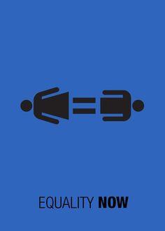 Gender Equality Poster On Behance Misc. Gender Equality Poster, Equality Now, Social Awareness Posters, Gender Inequality, Political Art, Feminist Art, Design Graphique, Creative Posters, Creative Advertising