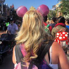 Rocking #herhair with #minniemouse ears  #hair #hairstyle  #disney #hairstyles #haircolour #haircolor #hairdye #hairdo #haircut #longhairdontcare #braid #herhairtravel #disneyland #straighthair #longhair  #curly  #brown #blonde #brunette #hairoftheday #hairideas #braidideas #perfectcurls  #hairofinstagram #coolhair by her.hair