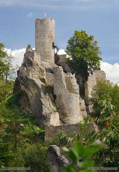 Castle ruins Landštejn