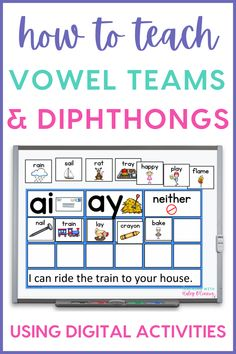 Digital phonics activities have become a hit in elementary classrooms. Digital resources are great because they are no prep for the teacher and they are super engaging for students. In this post, I share my favorite phonics activities during literacy centers, Daily 5, or guided reading groups. There are magnetic letter activities, vowel team activities and diphthong activities. Students can work on creating sentences, cvc word activities, and phonics patterns.