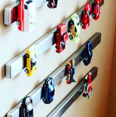 Magnetic Strips for Toy Cars