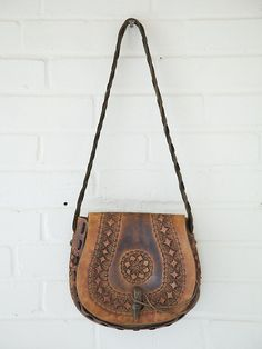 Free People Vintage Tan Lock Boho Bag, $0.00