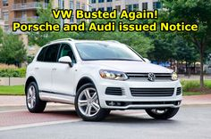 maxspeedmedia.com Volkswagen is busted once again by the EPA as it claims the automaker installed emissions defeating software in some of it's Porsche and Audi diesel automobiles.