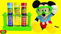 Mickey Mouse Clubhouse Fun and Crayola Color Lab.