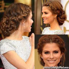 An effective hair from a bun with straw braid (19)