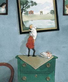 Pinzellades al món: Fuga pictòrica / Fuga pictórica / Fuga pictorial Illustration by Lizbeth Zwerger. on http://bibliocolors.blogspot.com/2011/10/fuga-pictorica-fuga-pictorica-fuga.html