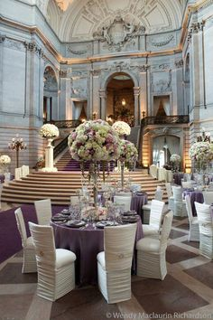 Stunning wedding reception