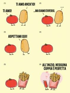 Funny pictures about Tomato And Potato Love Story. Oh, and cool pics about Tomato And Potato Love Story. Also, Tomato And Potato Love Story photos. Best Love Stories, Love Story, L Love You, My Love, Funny Memes, Hilarious, It's Funny, Funny Couples, Funny Messages