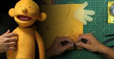 Learn how to build a hand puppet understructure with BJ Guyer (The Muppets, Crank Yankers, Glee) from design & planning, to creating mouth plates & arm rods.