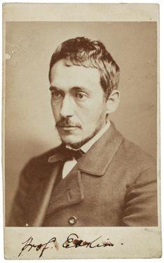 "Frederick Gutekunst, ""Thomas Eakins"", 1878, Albumen print."