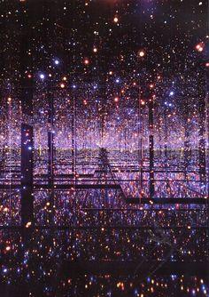 yayoi kusama,infinity mirrored room – the souls of millions of light years away