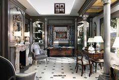 0039 Luxury Italian Projects - Classic Bespoke Furniture